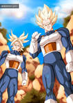 Commission of Dragon Ball Z for YoNiggaGoku