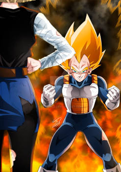 Vegeta and Android 18 Dragon Ball Z