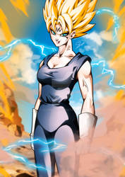 What if Vegeta was a woman?
