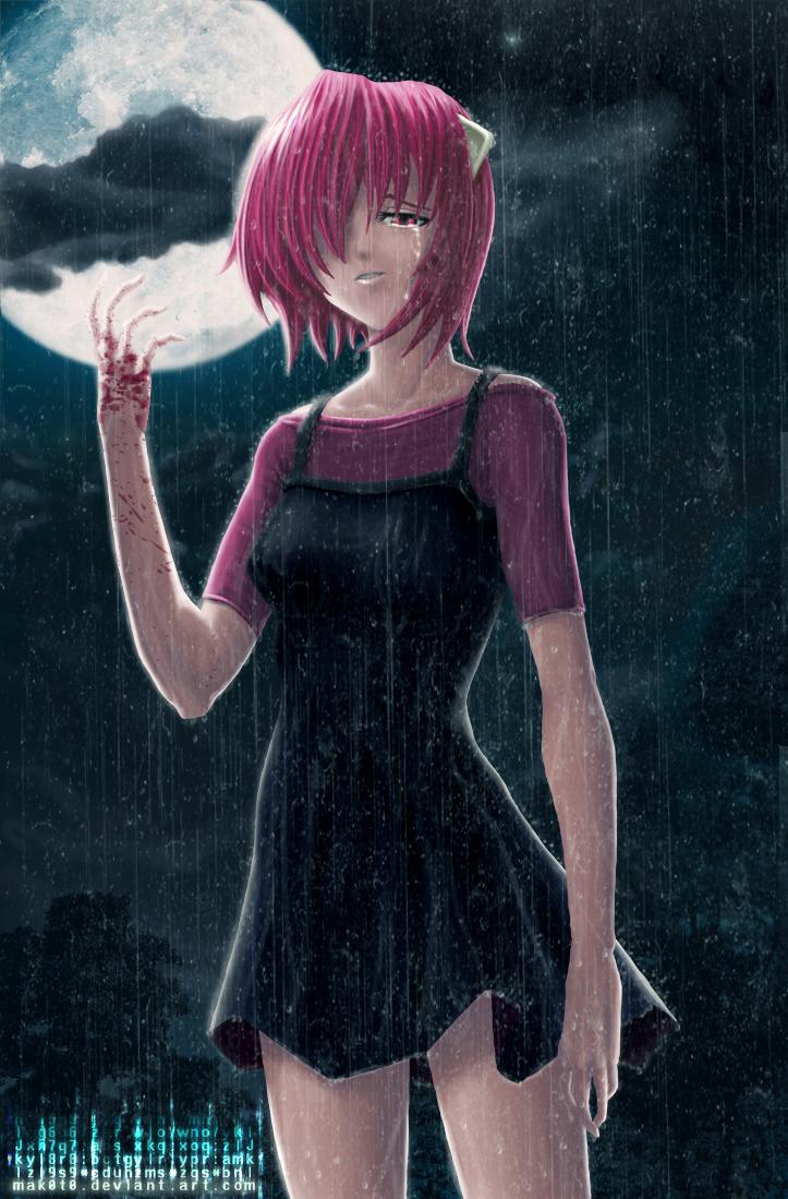 Lucy Hitogoroshi Elfen_Lied___Lucy_by_mak0t0