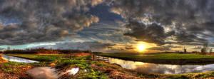 Zwarte berg- Noord Brabant-Nederland