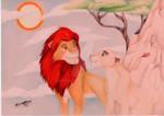Simba and Nala finished