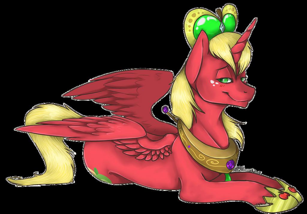 Princess Big Mac By Amberswirl On Deviantart Princess Big Macintosh