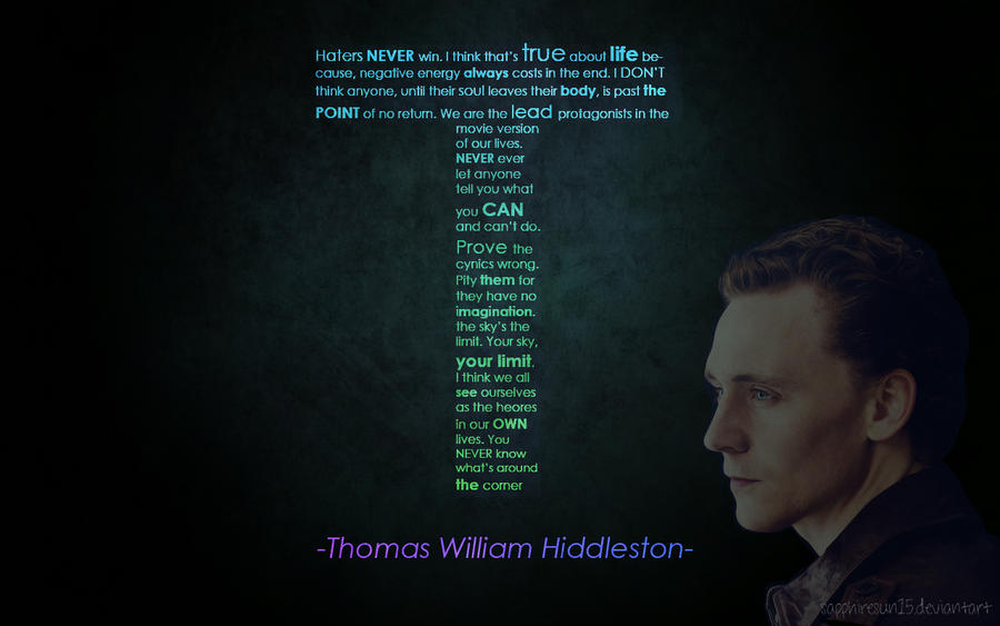 Insights Of Tom Hiddleston By Sapphiresun15 On Deviantart