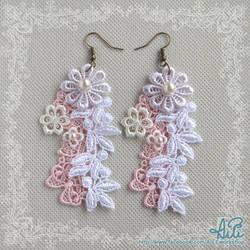 Lovely Lace Earrings