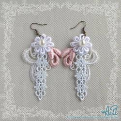 Light Color Lace Earrings