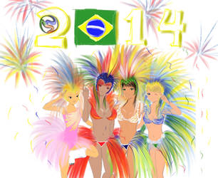 Brazilfever by Niki-Ray