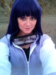 Hinata at the Beach