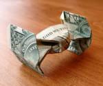 Dollar Bill StarFighter by craigfoldsfives