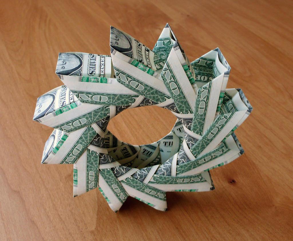 12 Dollar Bill Wheel By Craigfoldsfives On Deviantart