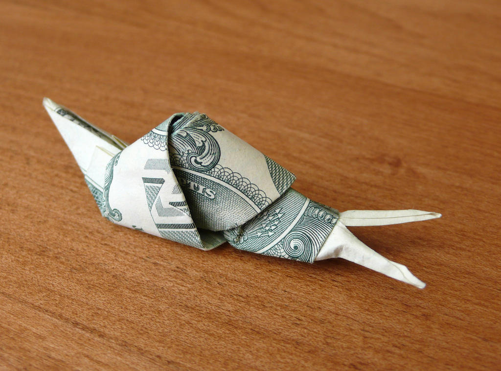 Dollar Bill Koi Fish Origami Instructions Psychologyarticlesfo