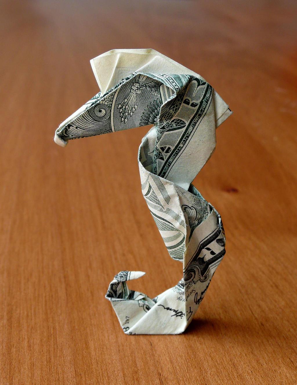 Sea Horses Origami Instructions Origami Seahorses Seahores Gif Origami