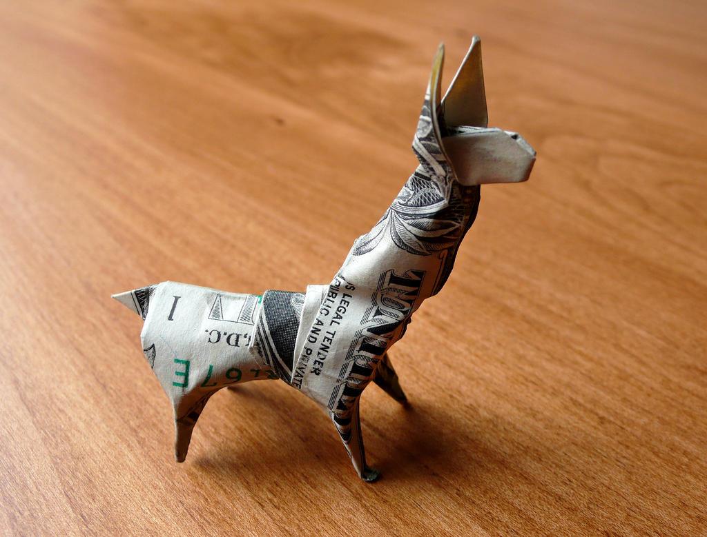 Dollar Origami Llama By Craigfoldsfives On Deviantart