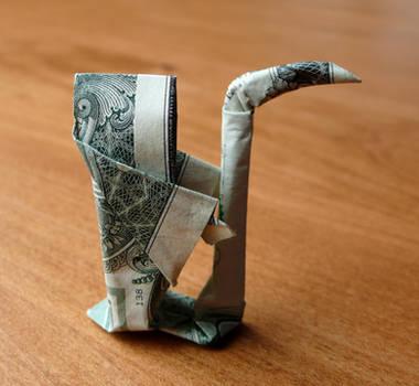 Dollar Origami Grim Reaper by craigfoldsfives