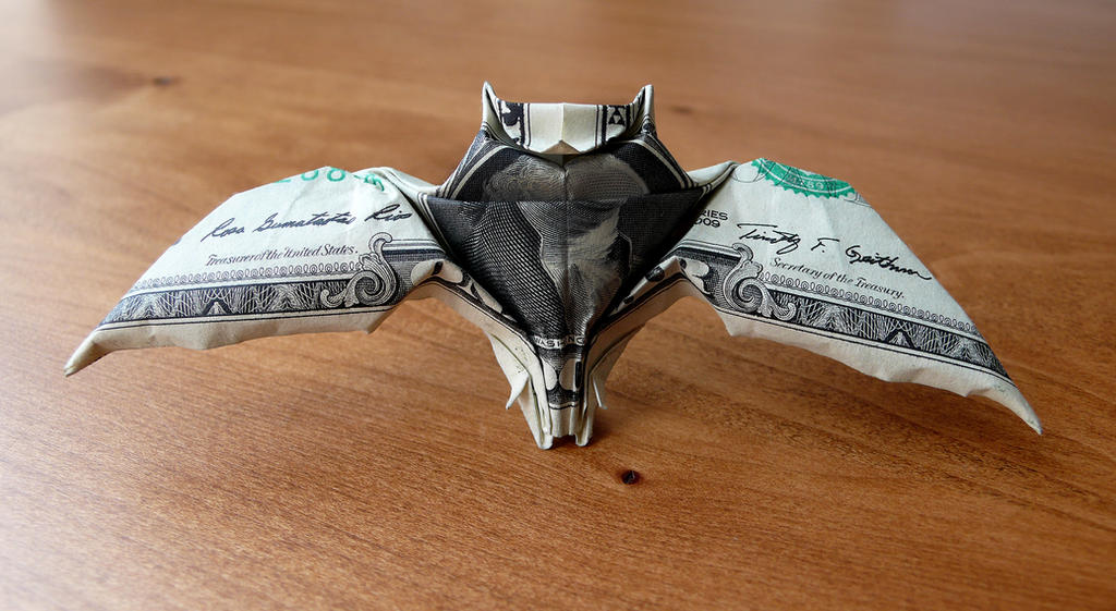 Money Owl Origami Dollar Tutorial DIY Folded No glue - YouTube | 561x1024