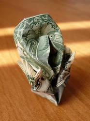 Dollar Origami The Scream v1