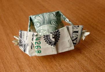 Origami Dollar Dog Playing Cards v1