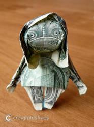 Dollar Origami Zombie v2