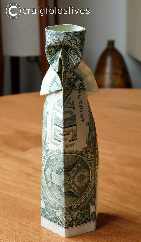 Dollar Origami Skelator v1 by craigfoldsfives
