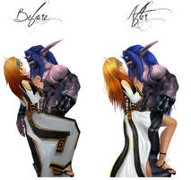 Before and After by Alkharia