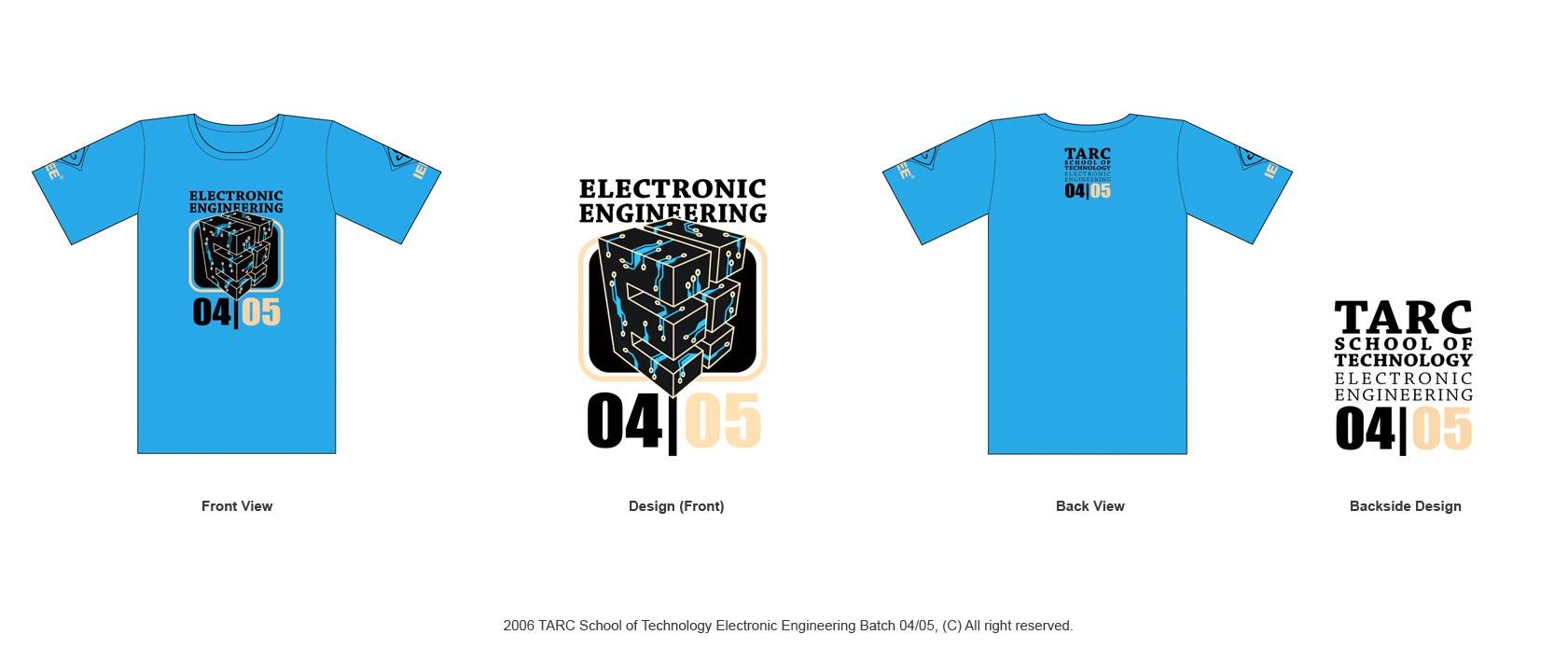 TARC IEEE T-Shirt Design