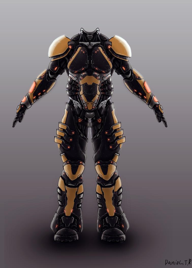 Battle suit consept by Avitus12