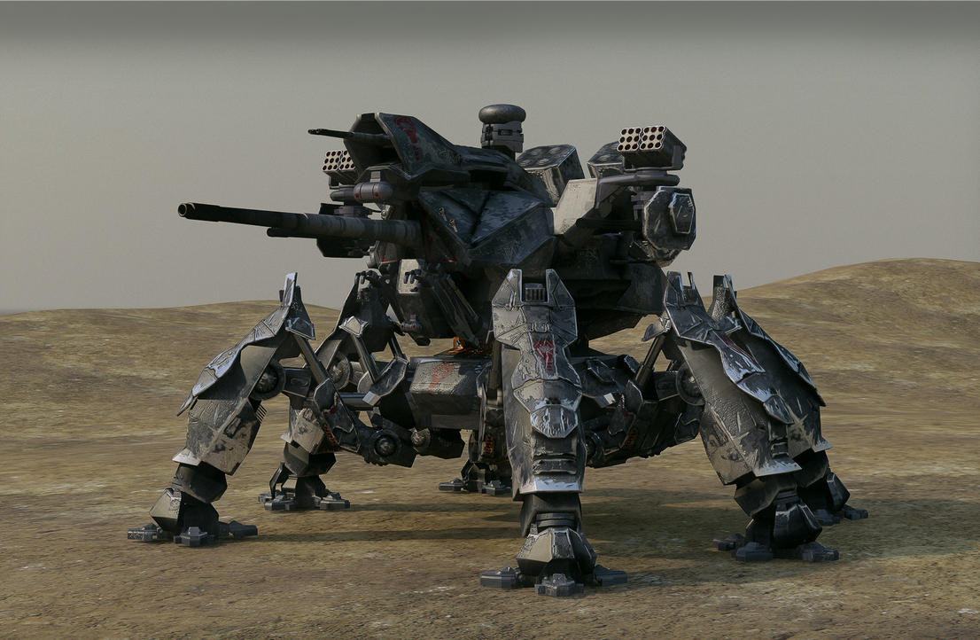 Annihilator Battle mech by Avitus12