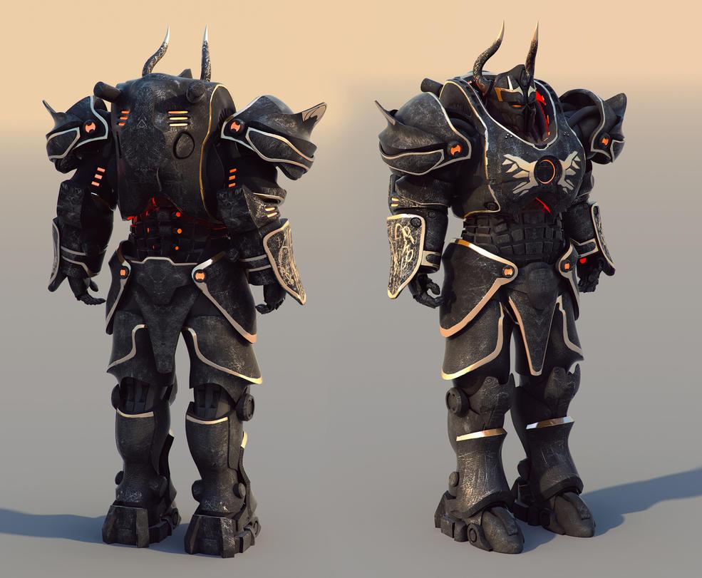 Mage Power armor v1 by Avitus12