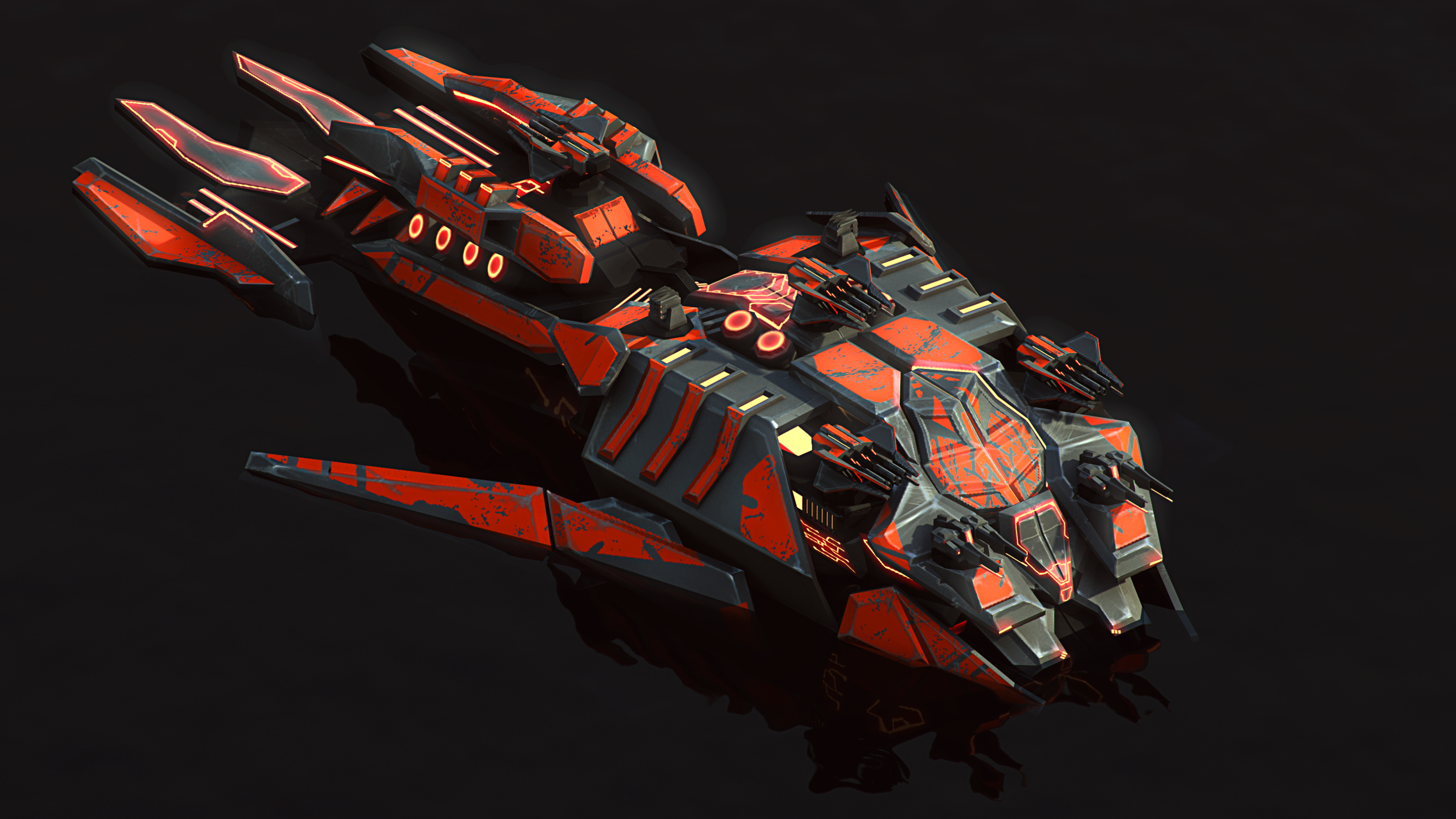 Cybran XP Battleship by Avitus12