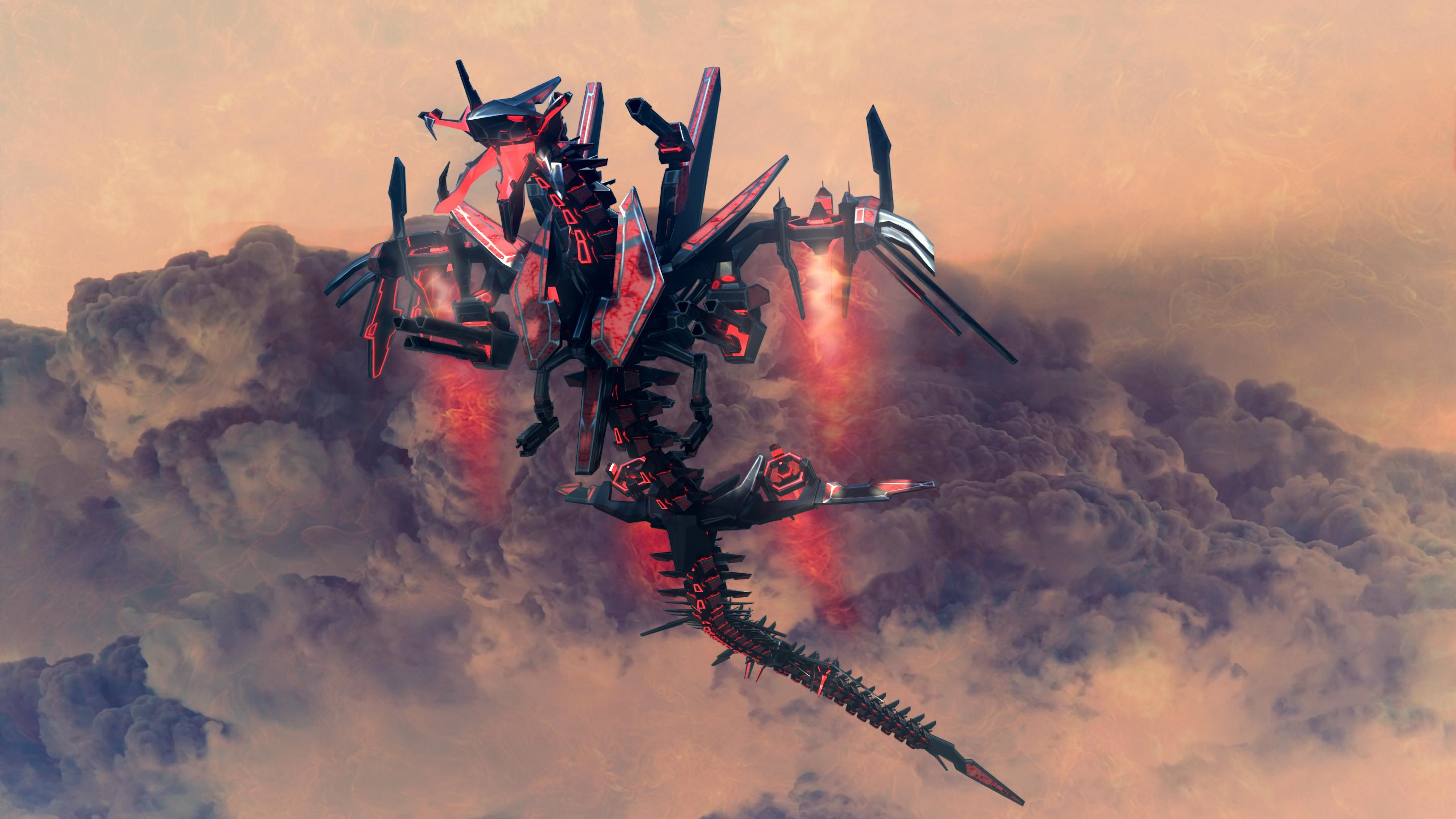 Cybran GOD LVL XP render 1 by Avitus12