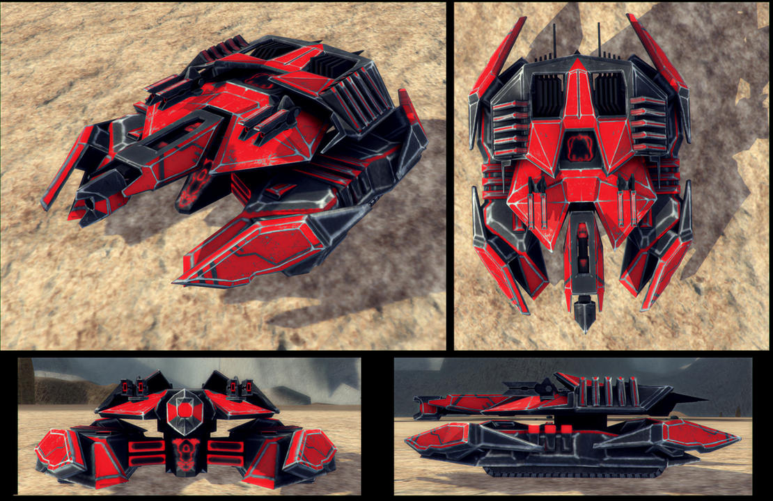 Cybran T3 tank MK 2 in game and finished by Avitus12