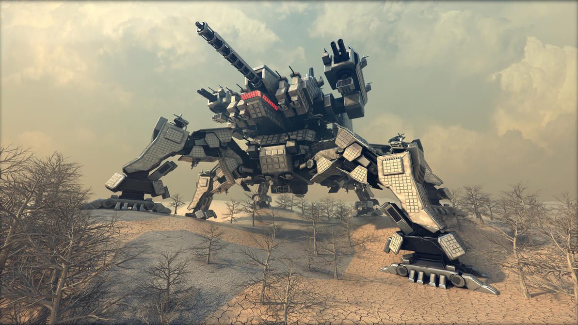 Spartan (mobile fortress) R3 by Avitus12