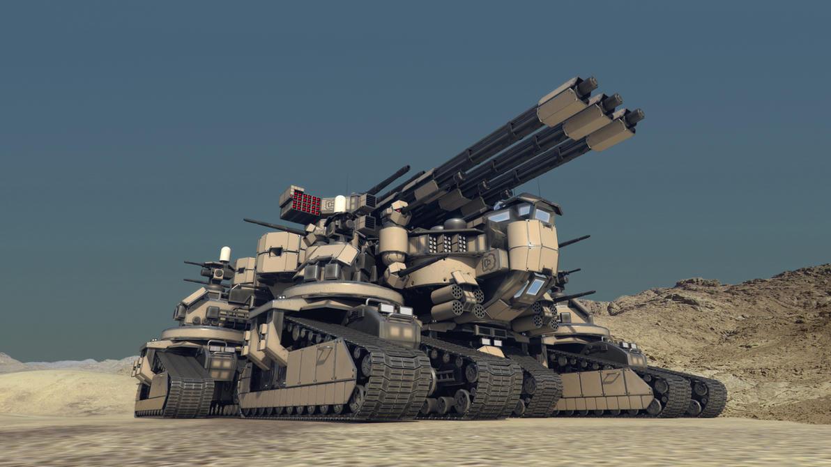 Taranchula Tank #2 by Avitus12