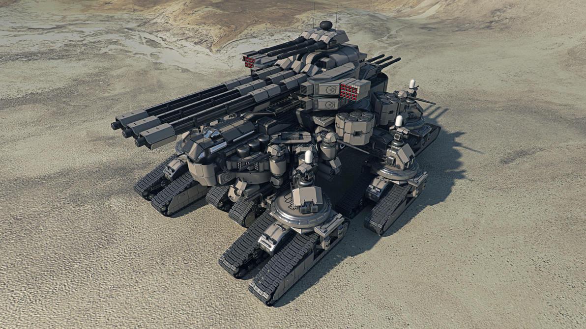 Taranchula Tank #1 by Avitus12