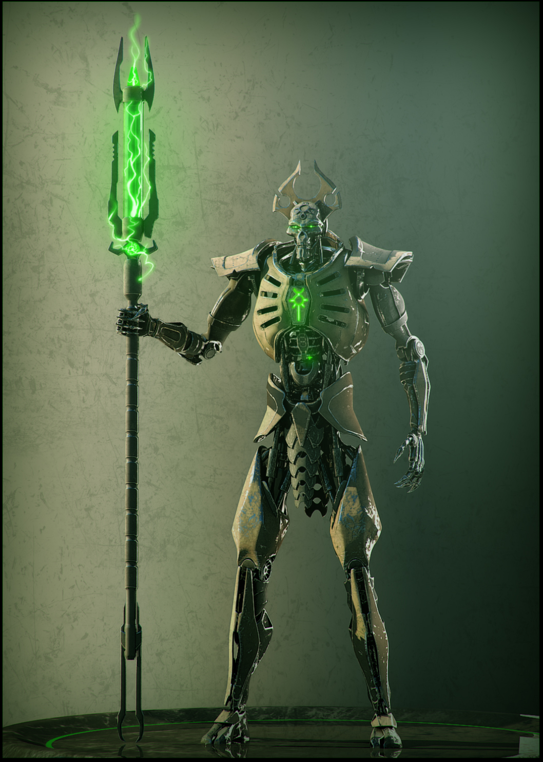 Necron lord #1 by Avit...