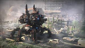 Annihilator Battle Mecha MK 2.1 code name Hades
