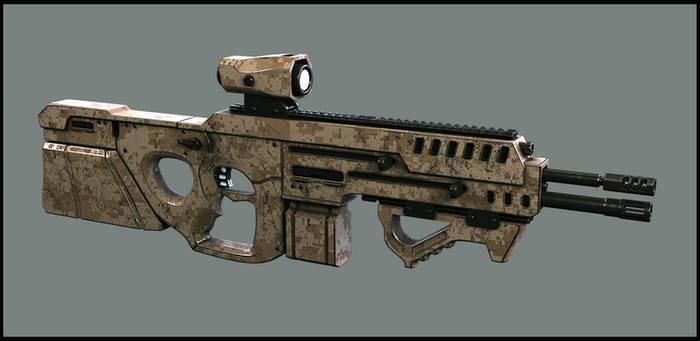 super soldier gun 1