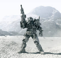 super soldier code name Chimera final render WIP 1