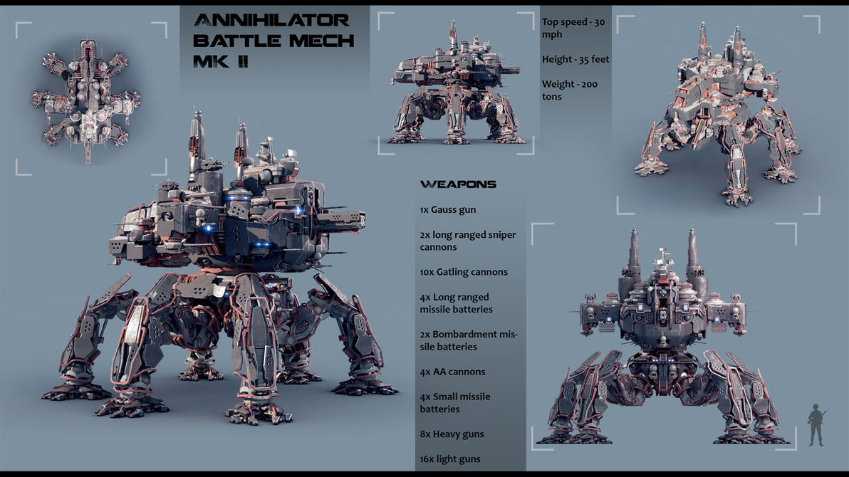 Annihilator MK II By Avitus12 On DeviantArt