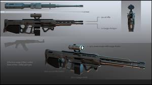 GR-3 rifle MK II presentation