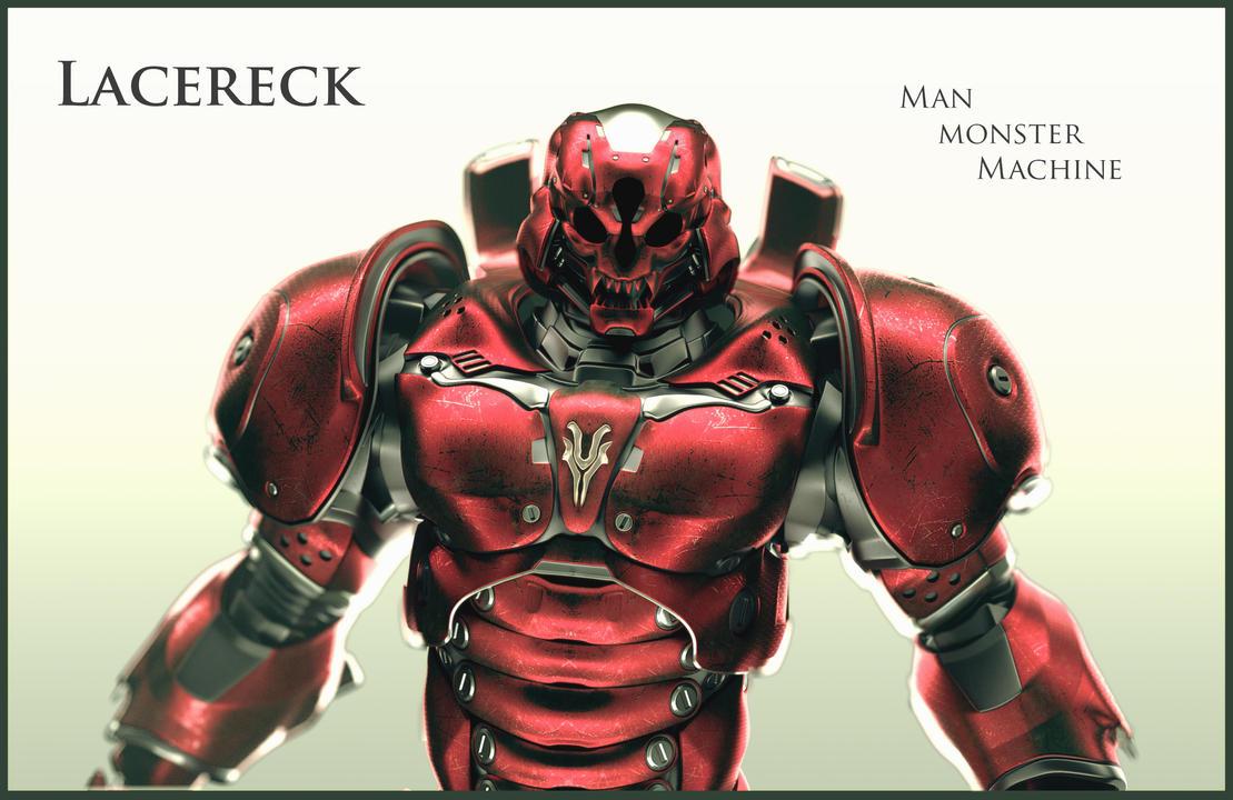 Lacereck Man, Monster, Machine by Avitus12