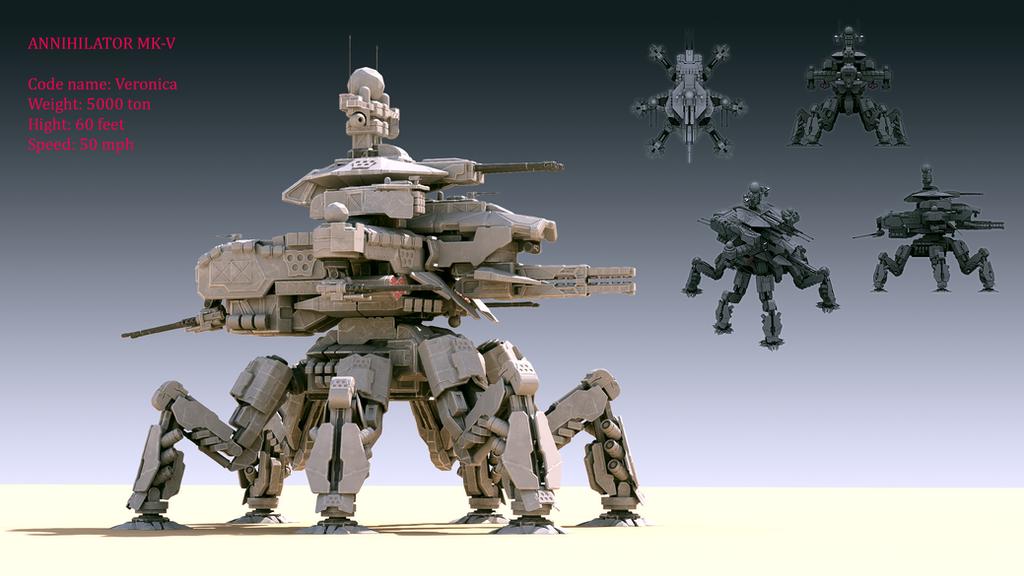 Annihilator MK-V by Avitus12