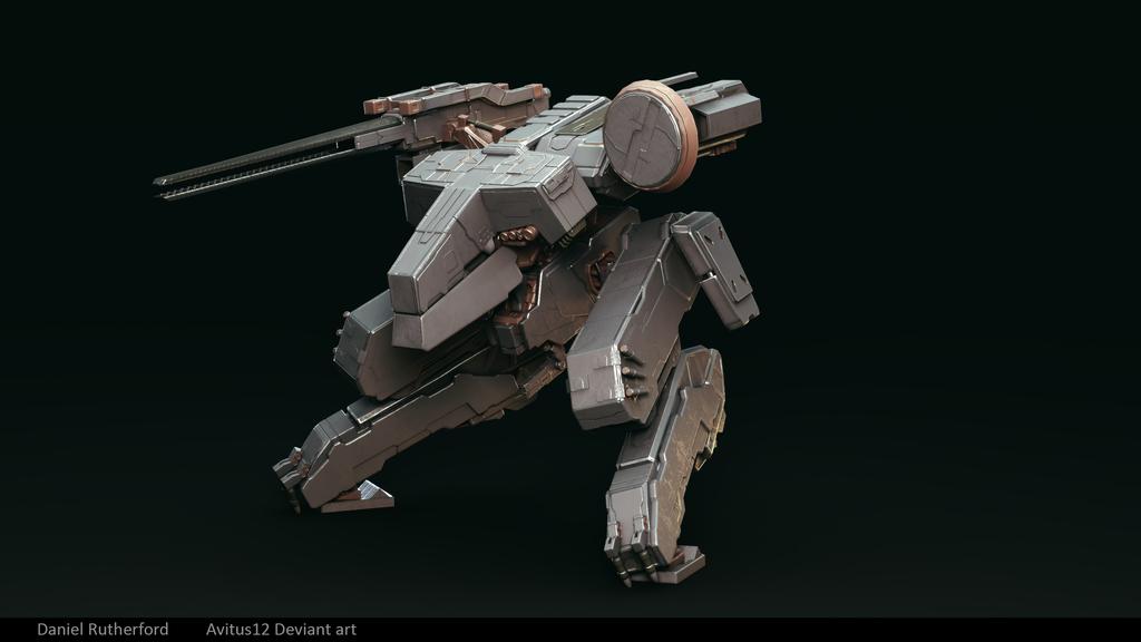 Metal Gear Rex by Avitus12 by Avitus12