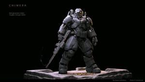 High tech Battle Armour Chimera MK-II r2