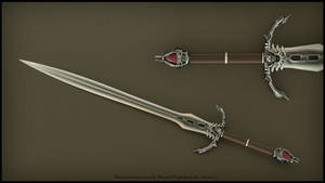 Demon hunter sword by Avitus12