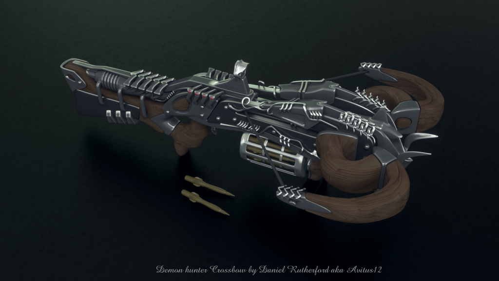 Demon hunnter Crossbow 1 by Avitus12