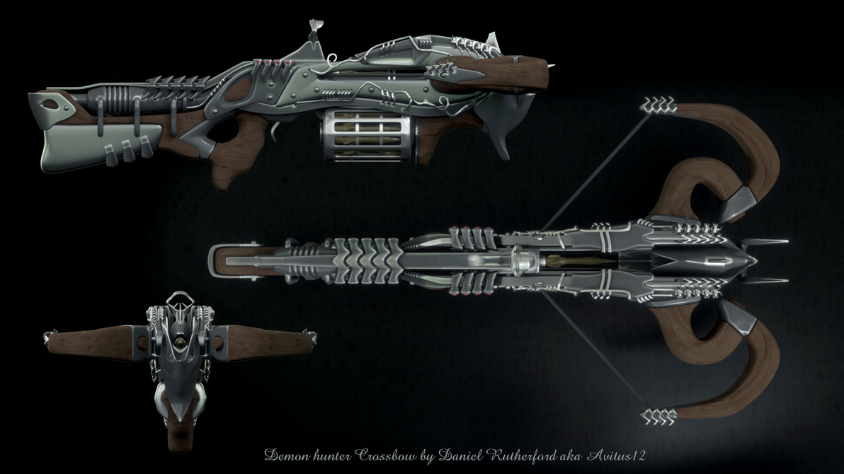 Demon hunter Crossbow 2 by Avitus12