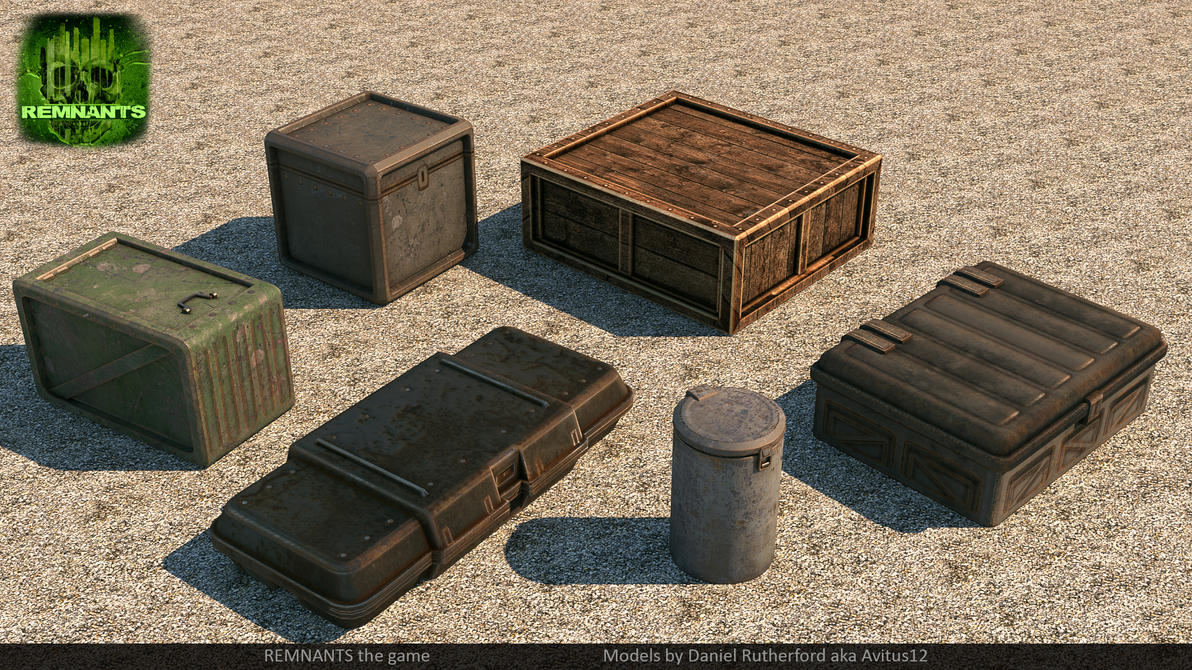 Crates for Remnants by Avitus12