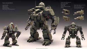 heavy Assault Mech (Atlas)