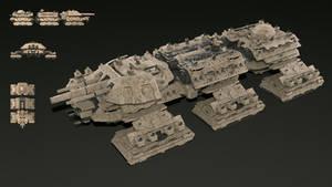Behemoth Terrestrial Dreadnought R1 by Avitus12